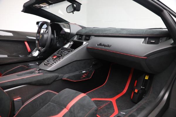 Used 2017 Lamborghini Aventador LP 750-4 SV for sale $599,900 at Bentley Greenwich in Greenwich CT 06830 22