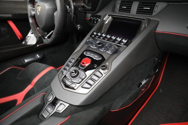 Used 2017 Lamborghini Aventador LP 750-4 SV for sale $599,900 at Bentley Greenwich in Greenwich CT 06830 25