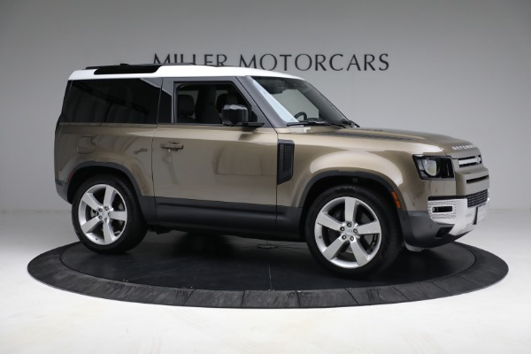 Used 2021 Land Rover Defender 90 First Edition for sale $69,900 at Bentley Greenwich in Greenwich CT 06830 10