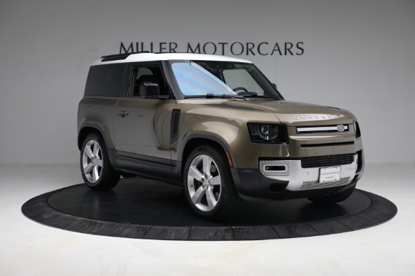 Used 2021 Land Rover Defender 90 First Edition for sale $69,900 at Bentley Greenwich in Greenwich CT 06830 11