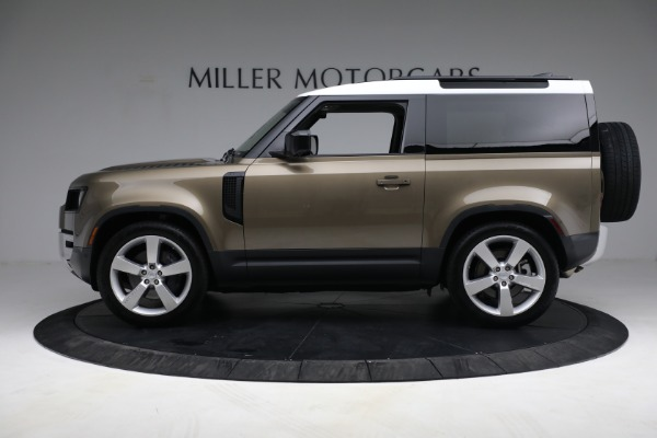 Used 2021 Land Rover Defender 90 First Edition for sale $69,900 at Bentley Greenwich in Greenwich CT 06830 13