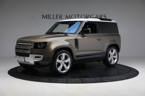 Used 2021 Land Rover Defender 90 First Edition for sale $69,900 at Bentley Greenwich in Greenwich CT 06830 2