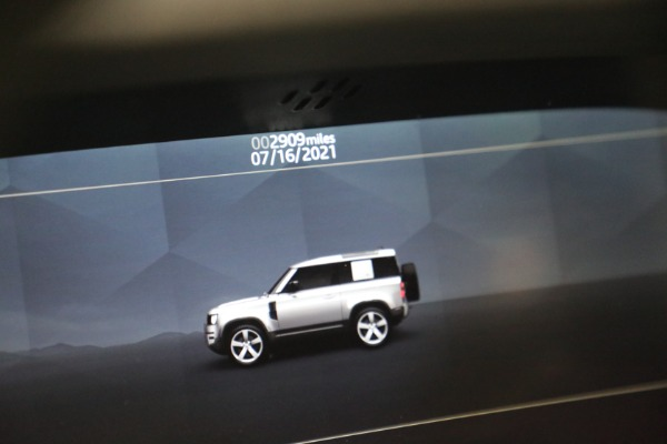 Used 2021 Land Rover Defender 90 First Edition for sale $69,900 at Bentley Greenwich in Greenwich CT 06830 24