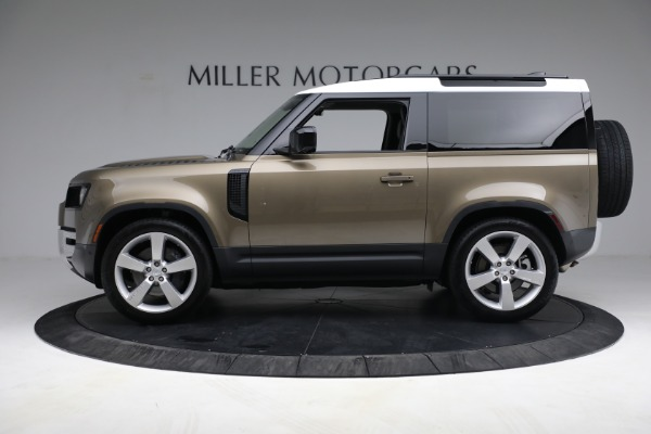 Used 2021 Land Rover Defender 90 First Edition for sale $69,900 at Bentley Greenwich in Greenwich CT 06830 3
