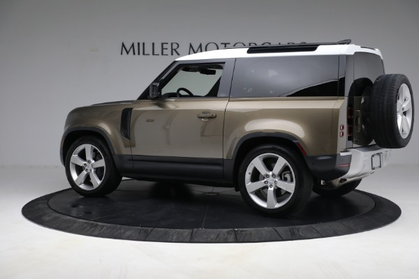 Used 2021 Land Rover Defender 90 First Edition for sale $69,900 at Bentley Greenwich in Greenwich CT 06830 4