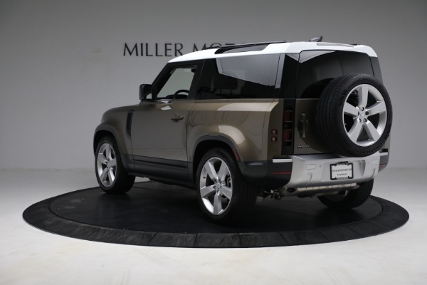 Used 2021 Land Rover Defender 90 First Edition for sale $69,900 at Bentley Greenwich in Greenwich CT 06830 5