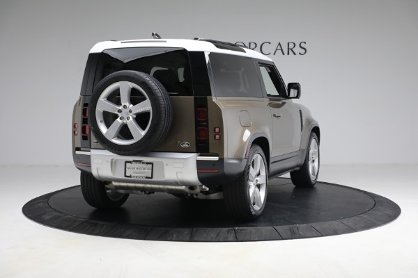 Used 2021 Land Rover Defender 90 First Edition for sale $69,900 at Bentley Greenwich in Greenwich CT 06830 7