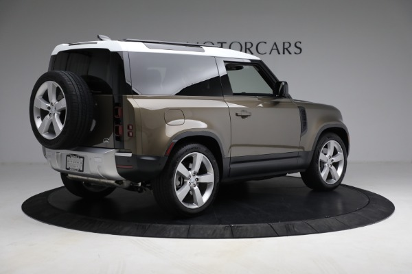 Used 2021 Land Rover Defender 90 First Edition for sale $69,900 at Bentley Greenwich in Greenwich CT 06830 8