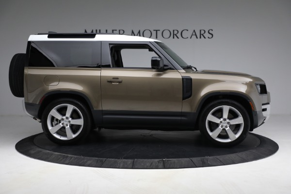 Used 2021 Land Rover Defender 90 First Edition for sale $69,900 at Bentley Greenwich in Greenwich CT 06830 9