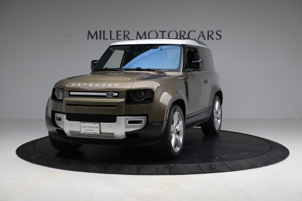 Used 2021 Land Rover Defender 90 First Edition for sale $69,900 at Bentley Greenwich in Greenwich CT 06830 1