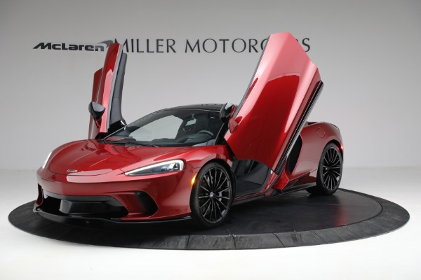 New 2021 McLaren GT Luxe for sale $217,275 at Bentley Greenwich in Greenwich CT 06830 13