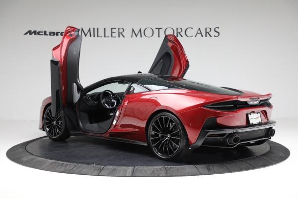 New 2021 McLaren GT for sale $217,275 at Bentley Greenwich in Greenwich CT 06830 15