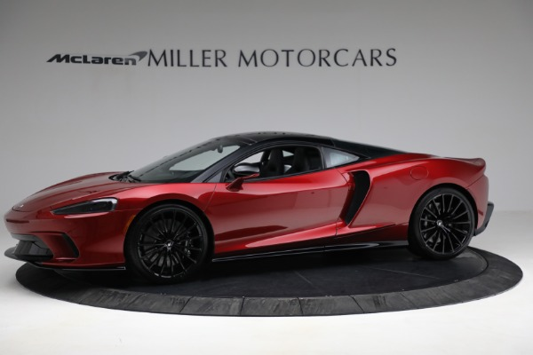 New 2021 McLaren GT Luxe for sale $217,275 at Bentley Greenwich in Greenwich CT 06830 2