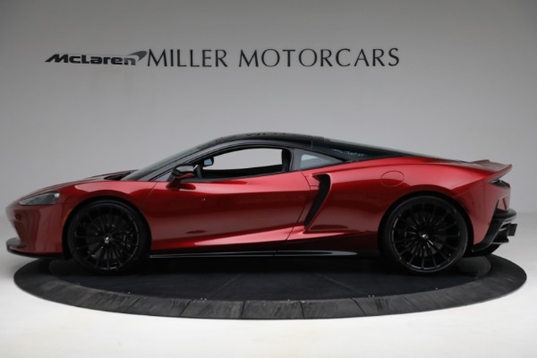 New 2021 McLaren GT for sale $217,275 at Bentley Greenwich in Greenwich CT 06830 3