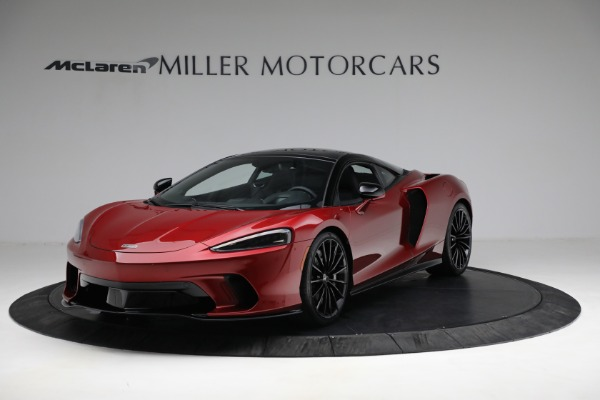 New 2021 McLaren GT for sale $217,275 at Bentley Greenwich in Greenwich CT 06830 1