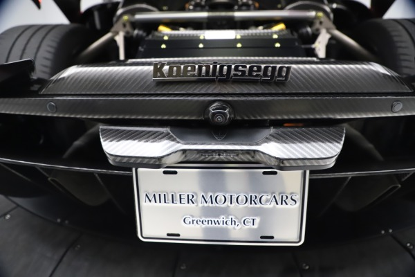 Used 2019 Koenigsegg Regera for sale Call for price at Bentley Greenwich in Greenwich CT 06830 23