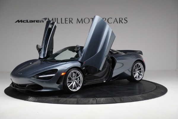 Used 2020 McLaren 720S Spider for sale $334,900 at Bentley Greenwich in Greenwich CT 06830 14