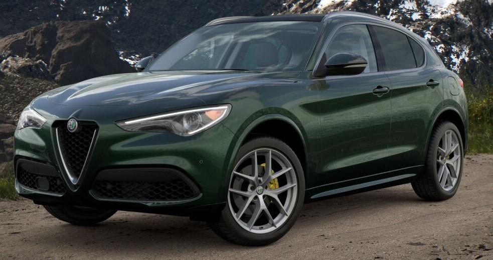 New 2021 Alfa Romeo Stelvio Ti for sale $57,750 at Bentley Greenwich in Greenwich CT 06830 1