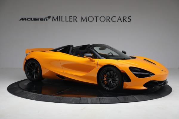 New 2021 McLaren 720S Spider for sale $378,110 at Bentley Greenwich in Greenwich CT 06830 10