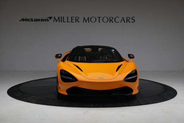 New 2021 McLaren 720S Spider for sale $378,110 at Bentley Greenwich in Greenwich CT 06830 12