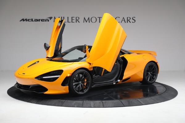 New 2021 McLaren 720S Spider for sale $378,110 at Bentley Greenwich in Greenwich CT 06830 14