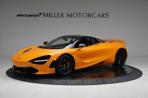 New 2021 McLaren 720S Spider for sale $378,110 at Bentley Greenwich in Greenwich CT 06830 15