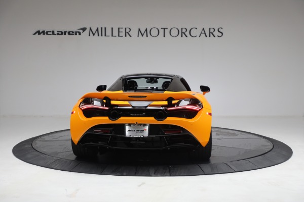 New 2021 McLaren 720S Spider for sale $378,110 at Bentley Greenwich in Greenwich CT 06830 18