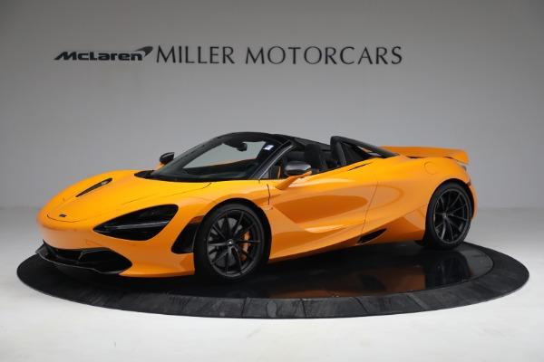 New 2021 McLaren 720S Spider for sale $378,110 at Bentley Greenwich in Greenwich CT 06830 2
