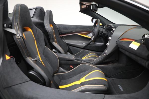 New 2021 McLaren 720S Spider for sale $378,110 at Bentley Greenwich in Greenwich CT 06830 28