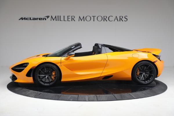 New 2021 McLaren 720S Spider for sale $378,110 at Bentley Greenwich in Greenwich CT 06830 3