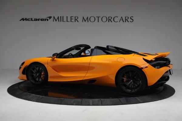 New 2021 McLaren 720S Spider for sale $378,110 at Bentley Greenwich in Greenwich CT 06830 4