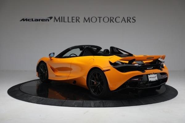 New 2021 McLaren 720S Spider for sale $378,110 at Bentley Greenwich in Greenwich CT 06830 5