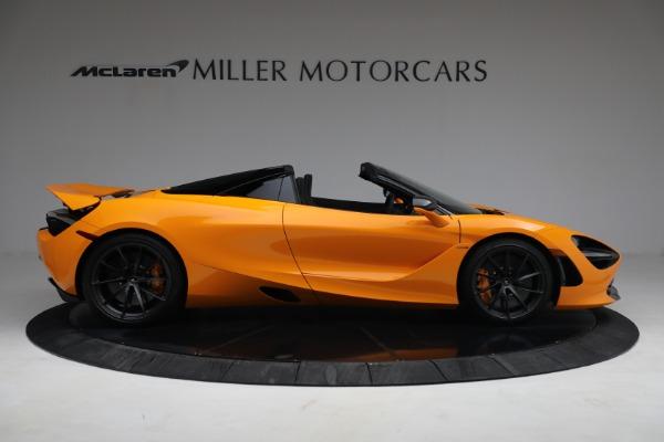 New 2021 McLaren 720S Spider for sale $378,110 at Bentley Greenwich in Greenwich CT 06830 9