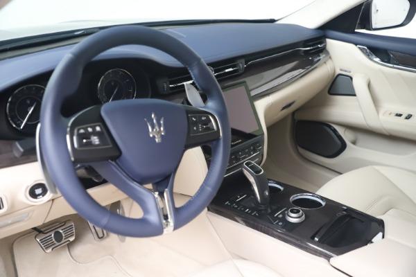 New 2021 Maserati Quattroporte S Q4 GranLusso for sale $126,149 at Bentley Greenwich in Greenwich CT 06830 13