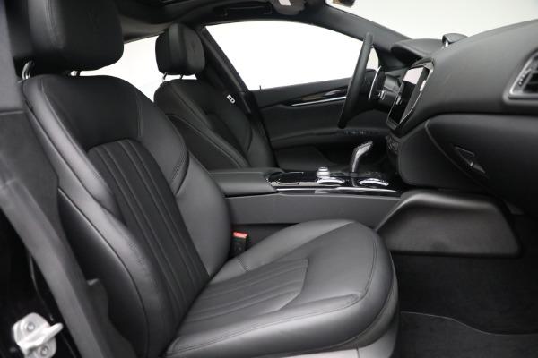 New 2021 Maserati Ghibli SQ4 for sale $92,894 at Bentley Greenwich in Greenwich CT 06830 26