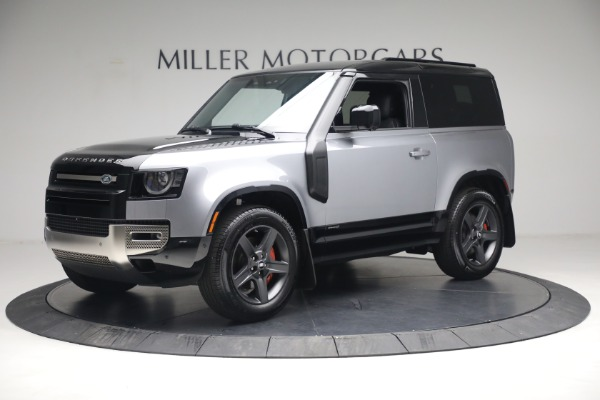 Used 2021 Land Rover Defender 90 X for sale Call for price at Bentley Greenwich in Greenwich CT 06830 2