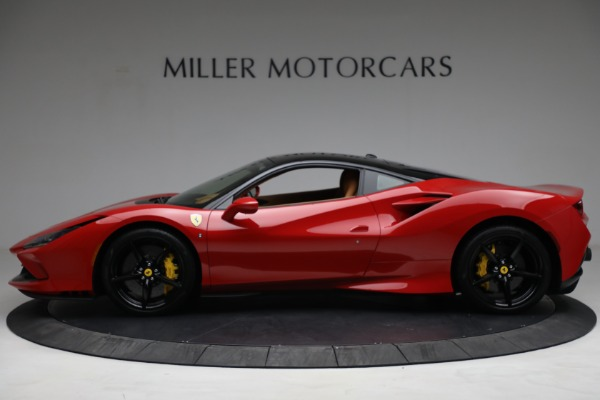 Used 2021 Ferrari F8 Tributo for sale Call for price at Bentley Greenwich in Greenwich CT 06830 3