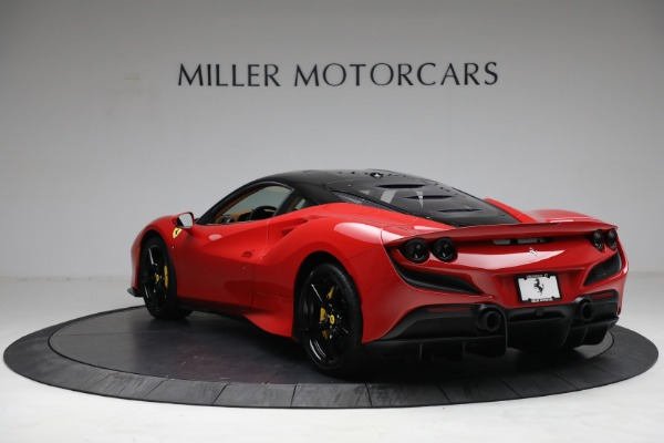 Used 2021 Ferrari F8 Tributo for sale Call for price at Bentley Greenwich in Greenwich CT 06830 5