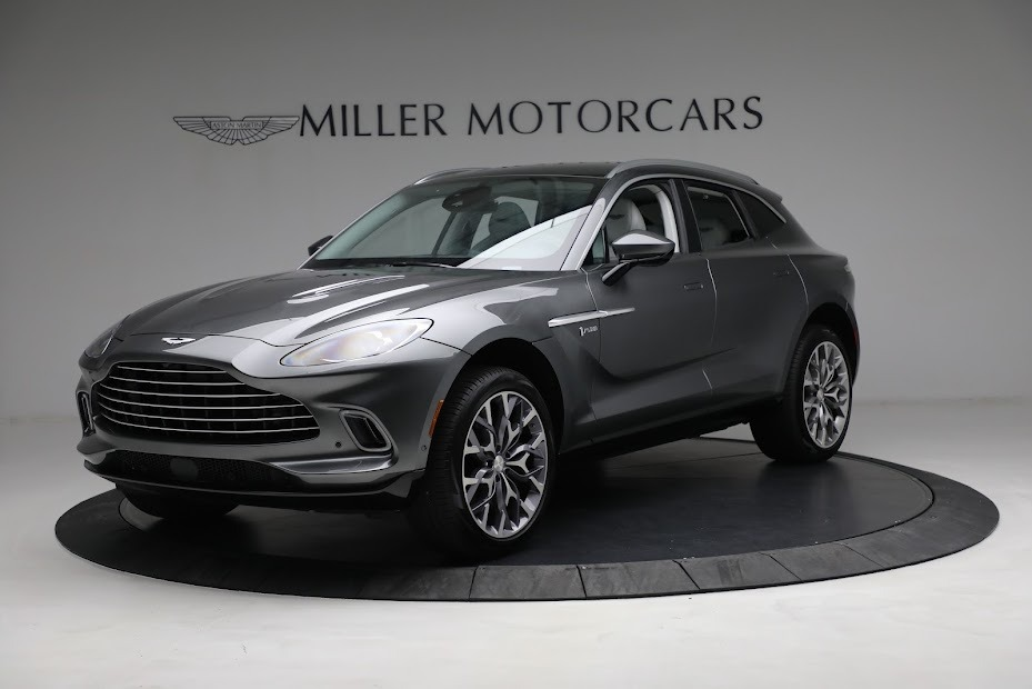 Used 2021 Aston Martin DBX for sale Sold at Bentley Greenwich in Greenwich CT 06830 1