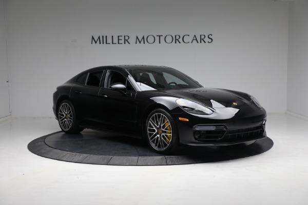 Used 2021 Porsche Panamera Turbo S for sale Call for price at Bentley Greenwich in Greenwich CT 06830 10