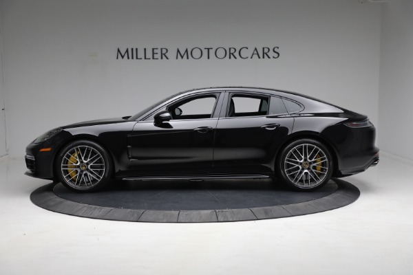 Used 2021 Porsche Panamera Turbo S for sale Call for price at Bentley Greenwich in Greenwich CT 06830 2
