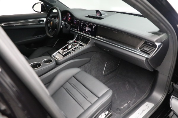 Used 2021 Porsche Panamera Turbo S for sale Call for price at Bentley Greenwich in Greenwich CT 06830 26