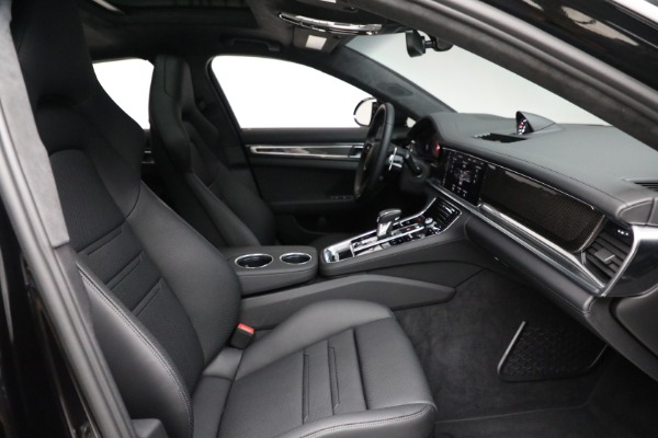 Used 2021 Porsche Panamera Turbo S for sale Call for price at Bentley Greenwich in Greenwich CT 06830 27