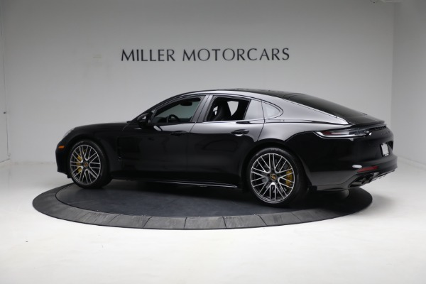 Used 2021 Porsche Panamera Turbo S for sale Call for price at Bentley Greenwich in Greenwich CT 06830 3
