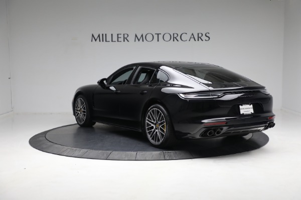 Used 2021 Porsche Panamera Turbo S for sale Call for price at Bentley Greenwich in Greenwich CT 06830 4