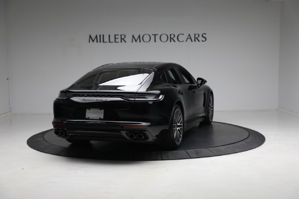 Used 2021 Porsche Panamera Turbo S for sale Call for price at Bentley Greenwich in Greenwich CT 06830 6