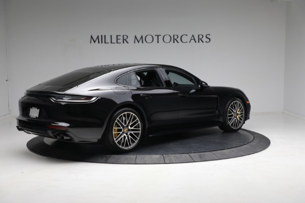 Used 2021 Porsche Panamera Turbo S for sale Call for price at Bentley Greenwich in Greenwich CT 06830 7