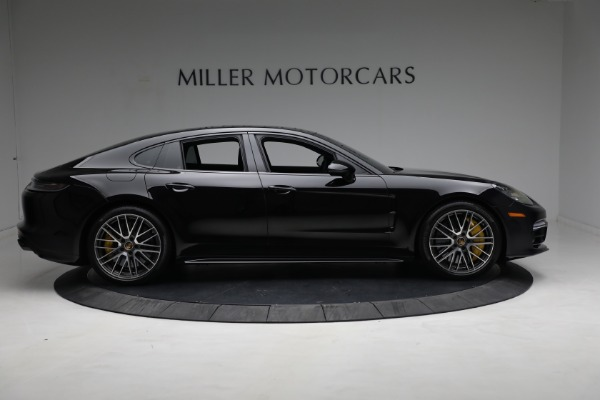 Used 2021 Porsche Panamera Turbo S for sale Call for price at Bentley Greenwich in Greenwich CT 06830 8