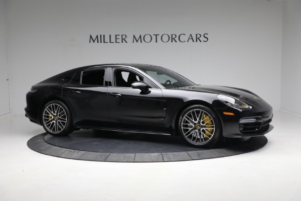 Used 2021 Porsche Panamera Turbo S for sale Call for price at Bentley Greenwich in Greenwich CT 06830 9