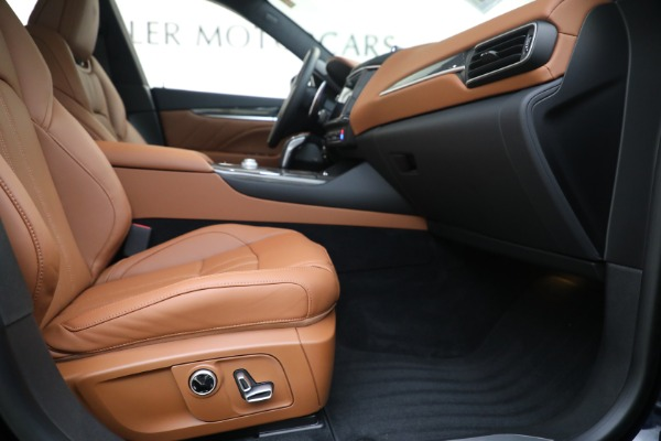 New 2021 Maserati Levante S GranSport for sale Call for price at Bentley Greenwich in Greenwich CT 06830 22